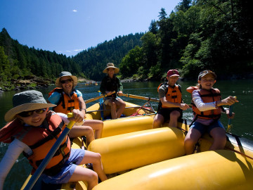 Rogue River Rafting Through the Eyes of a Child