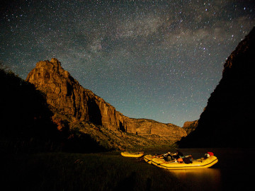 Best stargazing in the West: Yampa River   Photo: Justin Bailie
