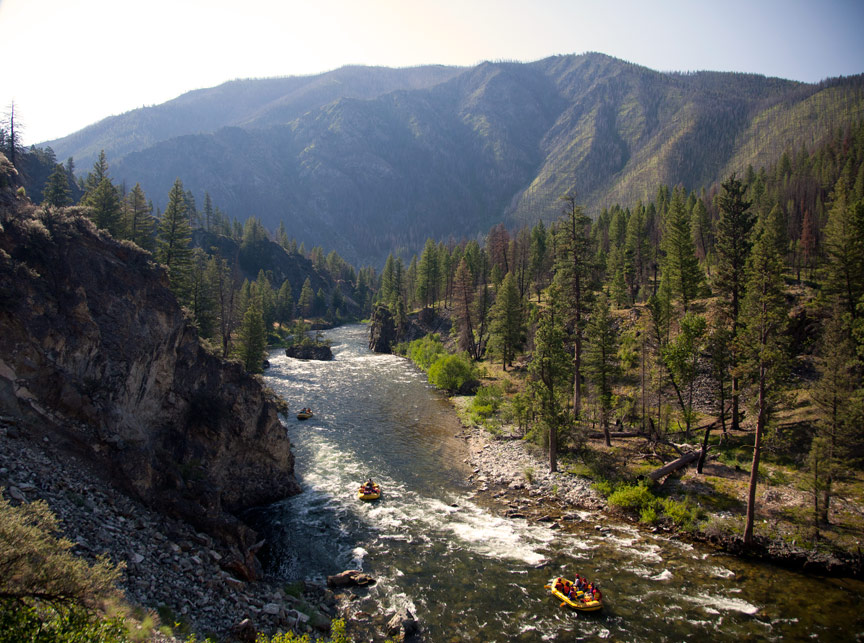 Middle Fork Salmon River Rafting, Idaho | Photo: Justin Bailie