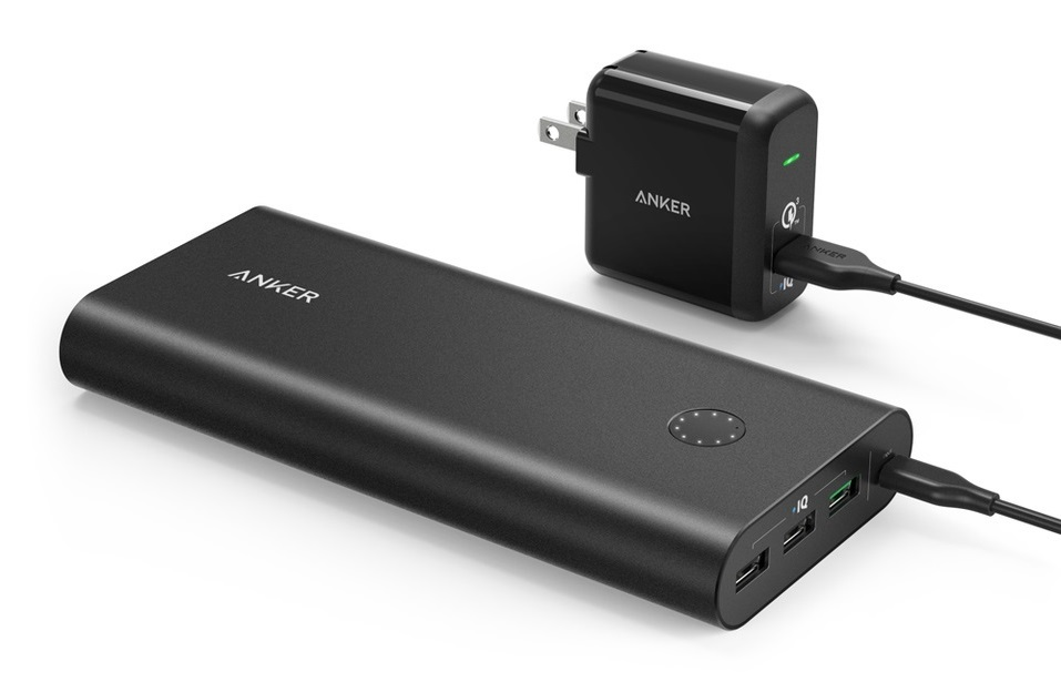 Best Portable Chargers for Rafting | Anker Portable Charger PowerCore+ 26800