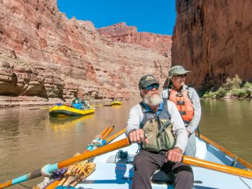 Roger Dale, guide for OARS Grand Canyon Dories