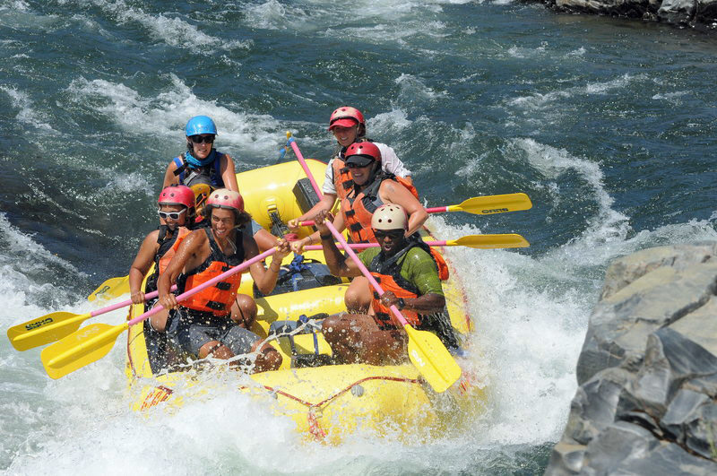 Rafting on the South Fork American River