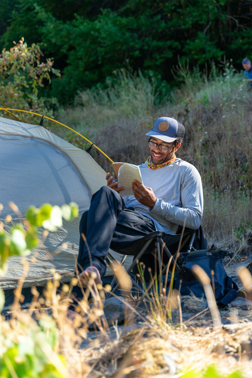 Writer Adam Edwards on the Rogue River